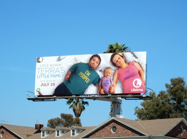 Little Women Terras Little Family Pooped billboard