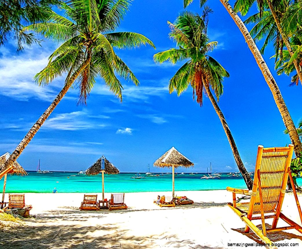 Paradise Beach Wallpaper   WallpaperSafari