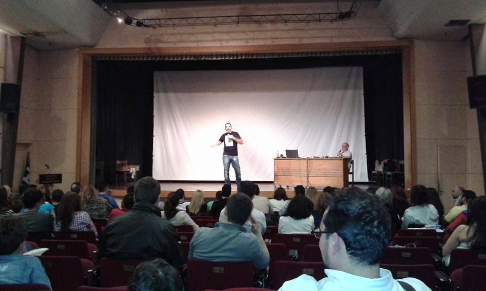 Εύβοια: Έκλαψαν από τα γέλια οι Χαλκιδέοι με τον Γιάννη Σερβετά (ΦΩΤΟ & ΒΙΝΤΕΟ)