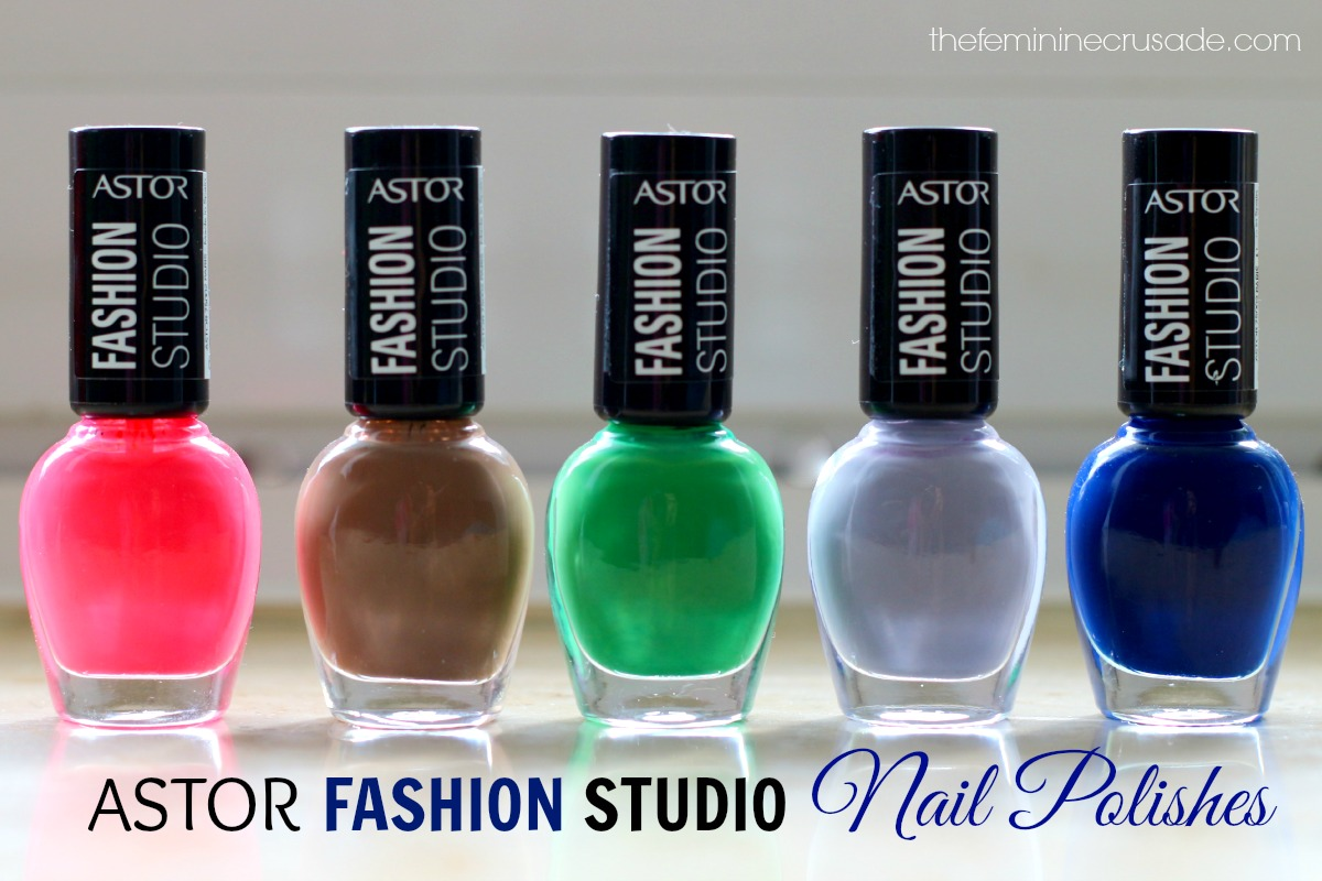 Astor Fashion Studio Nail Polishes