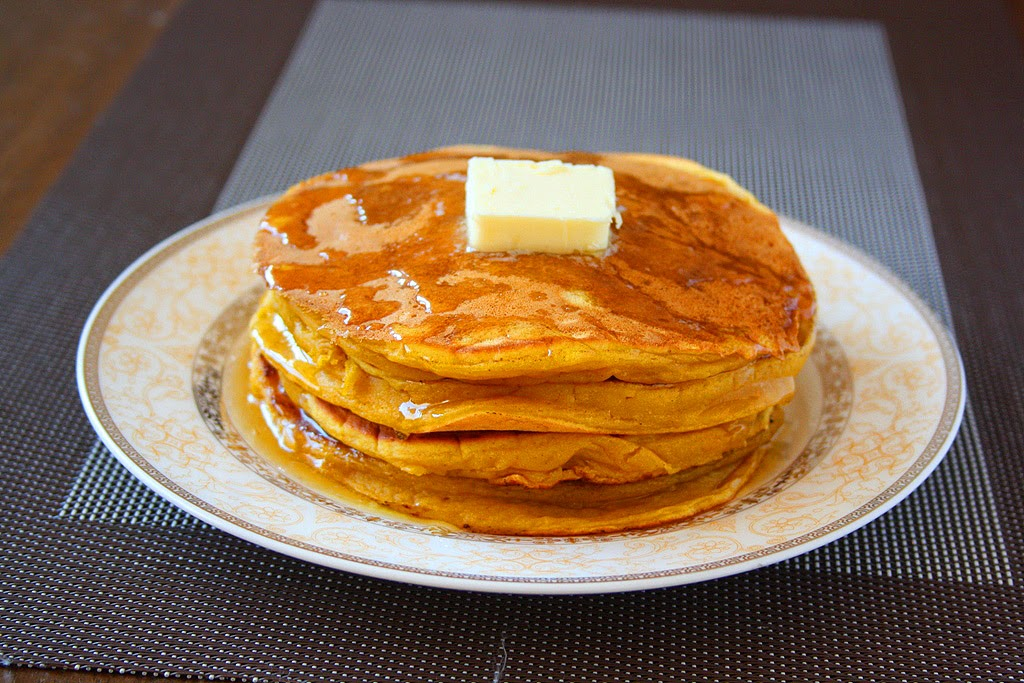 collecting memories: Pumpkin Pie Pancakes