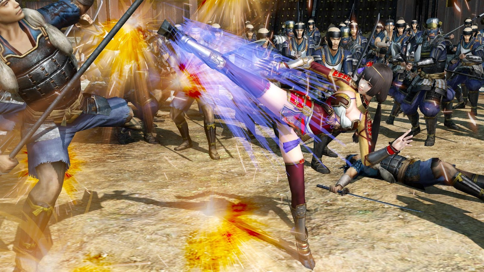 Download Samurai Warriors 4-II Full Crack [Action/2015]