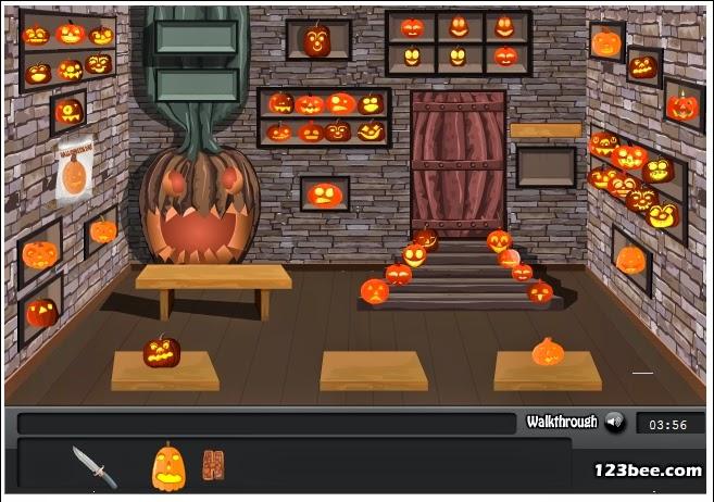 http://www.123bee.com/play/halloween_pumpkin_room/4902.html