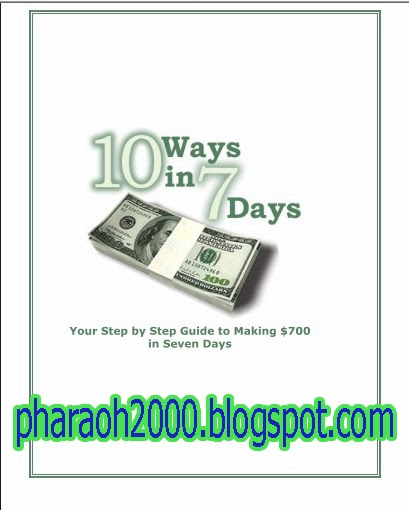 Free download amazing report-10 ways in 7 days