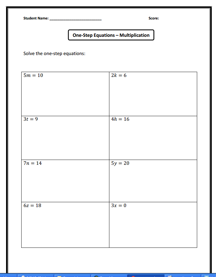 Mrs. White's 6th Grade Math Blog: November 2013