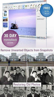 Restore your old photos, remove extraneous objects with a photo, please do retouching use SoftOrbits Photo Retoucher