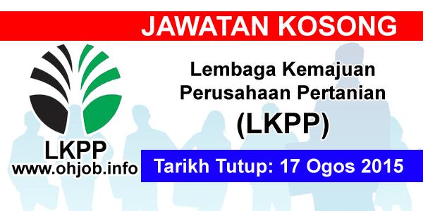 Jawatan Kerja Kosong Lembaga Kemajuan Perusahaan Pertanian (LKPP) logo www.ohjob.info ogos 2015