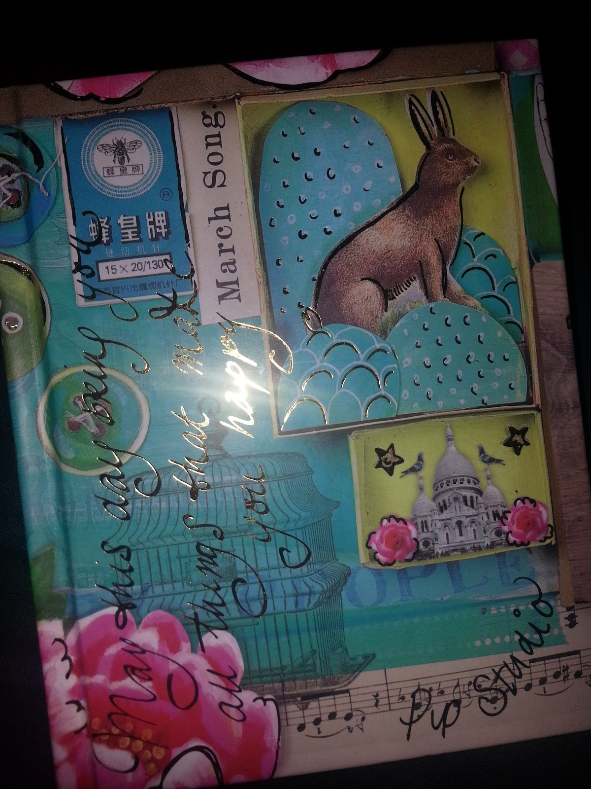 Rabbit, stationery,