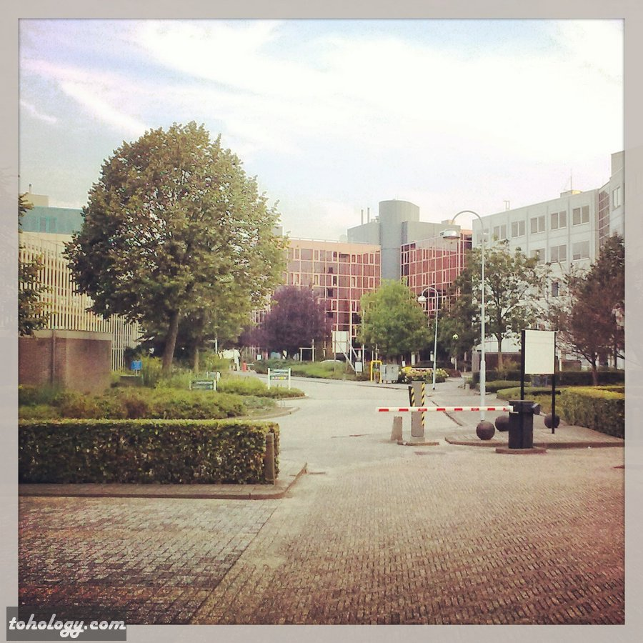 Territory near the hotel Holiday Inn Express Amsterdam – Schiphol