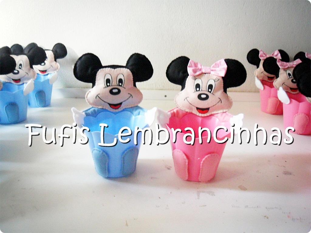 Mickey, Minnie, centros de mesa, lembrancinhas