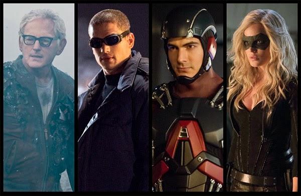 Personajes Spin off de Arrow y The Flash al estilo 'The Brave and the Bold'