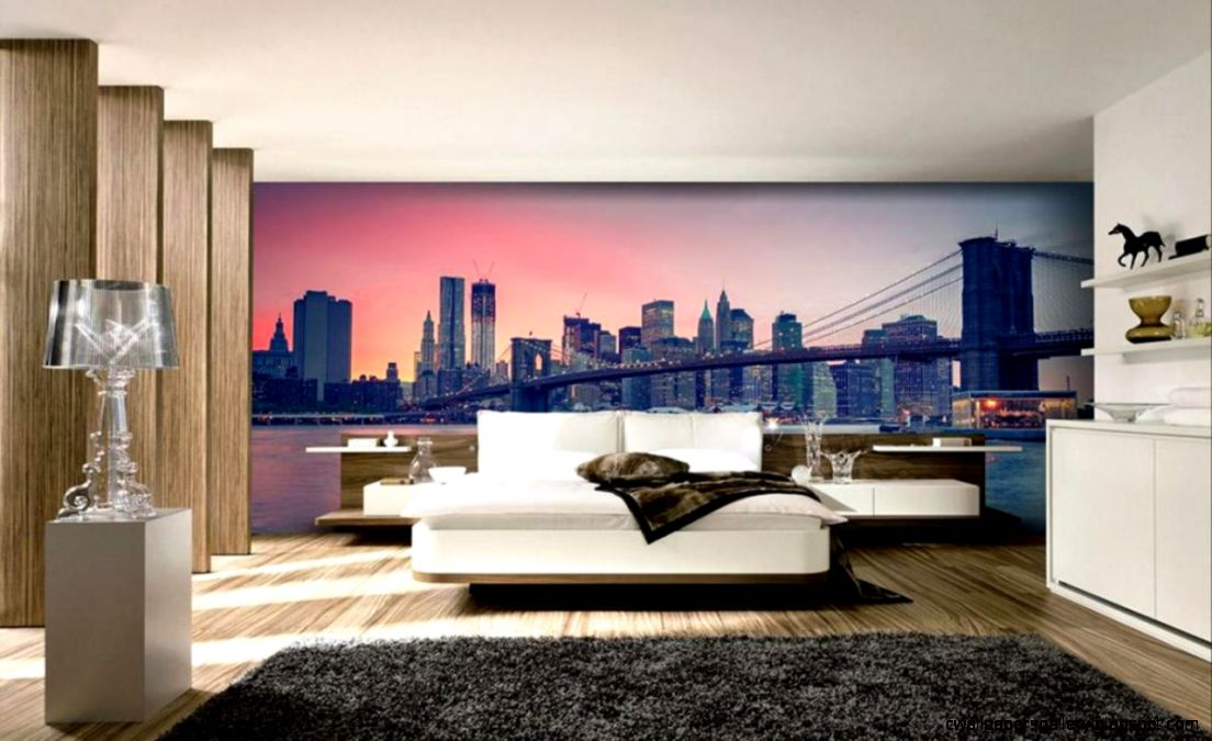 Wallpapers Modern Bedroom New York City Skyline For 1680x1050 York