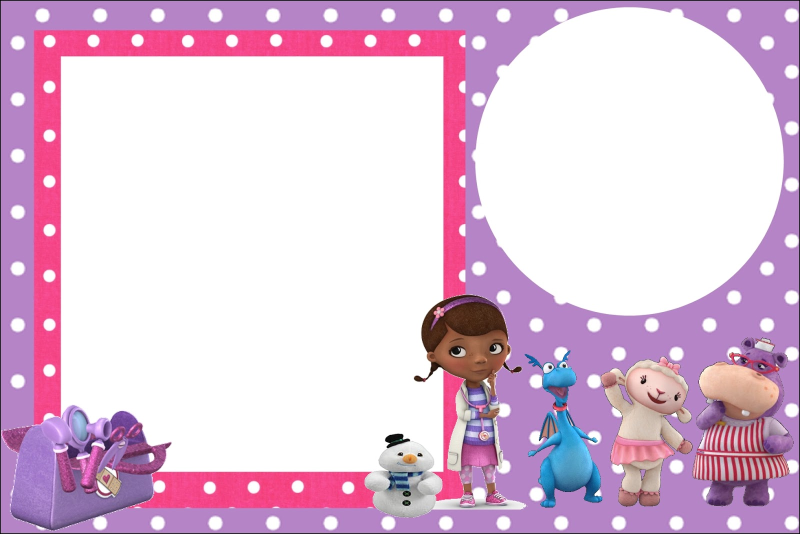 Doc Mcstuffins Invitations with luxury invitations example