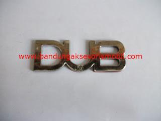 Emblem Car Logo Dub | Aksesoris Mobil