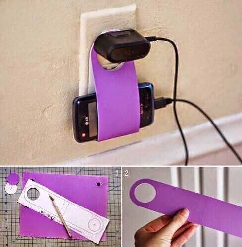 Do it yourself phone holder