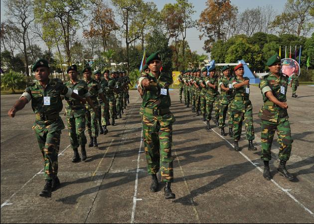 Bangladesh Army Soldier