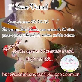 1º Curso Virtual Menina's Fofas