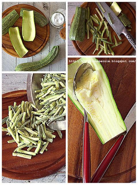 zucchine fritte a fiammifero