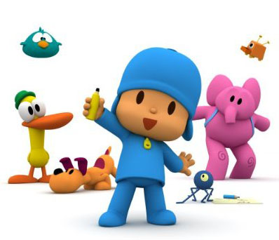 pocoyo is cute little boy character pocoyo has many friends an elephant duck also dog does your child like him give pocoyo coloring pages as children - Pocoyo Friends Coloring Pages