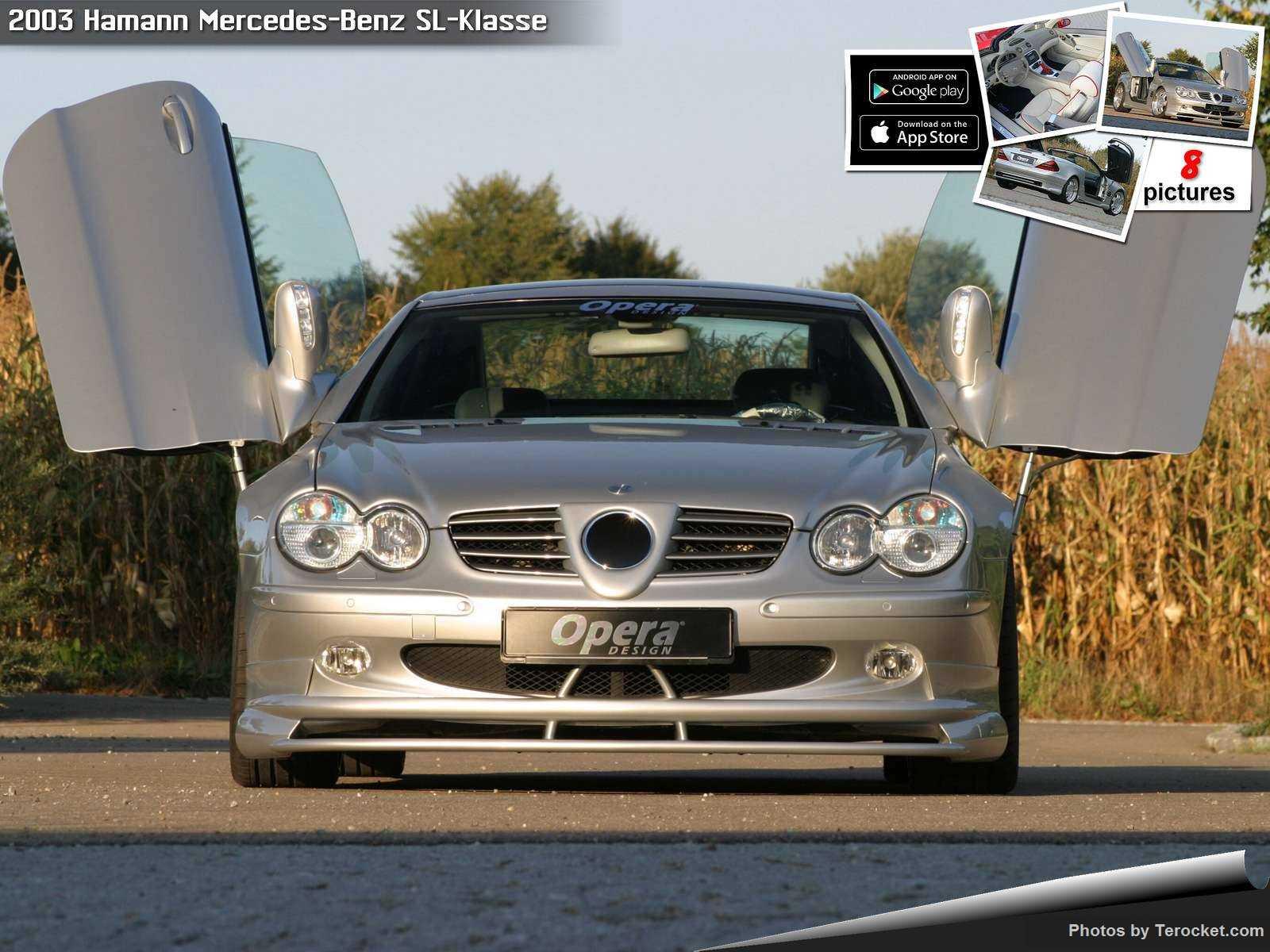Hình ảnh xe ô tô Hamann Mercedes-Benz SL-Klasse 2003 & nội ngoại thất