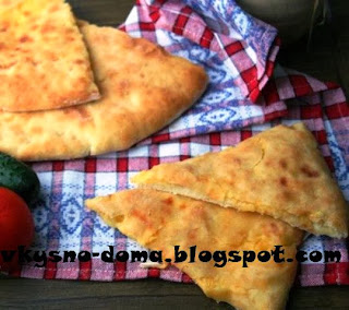 Пирог с картофелем и сыром (почти как осетинский)