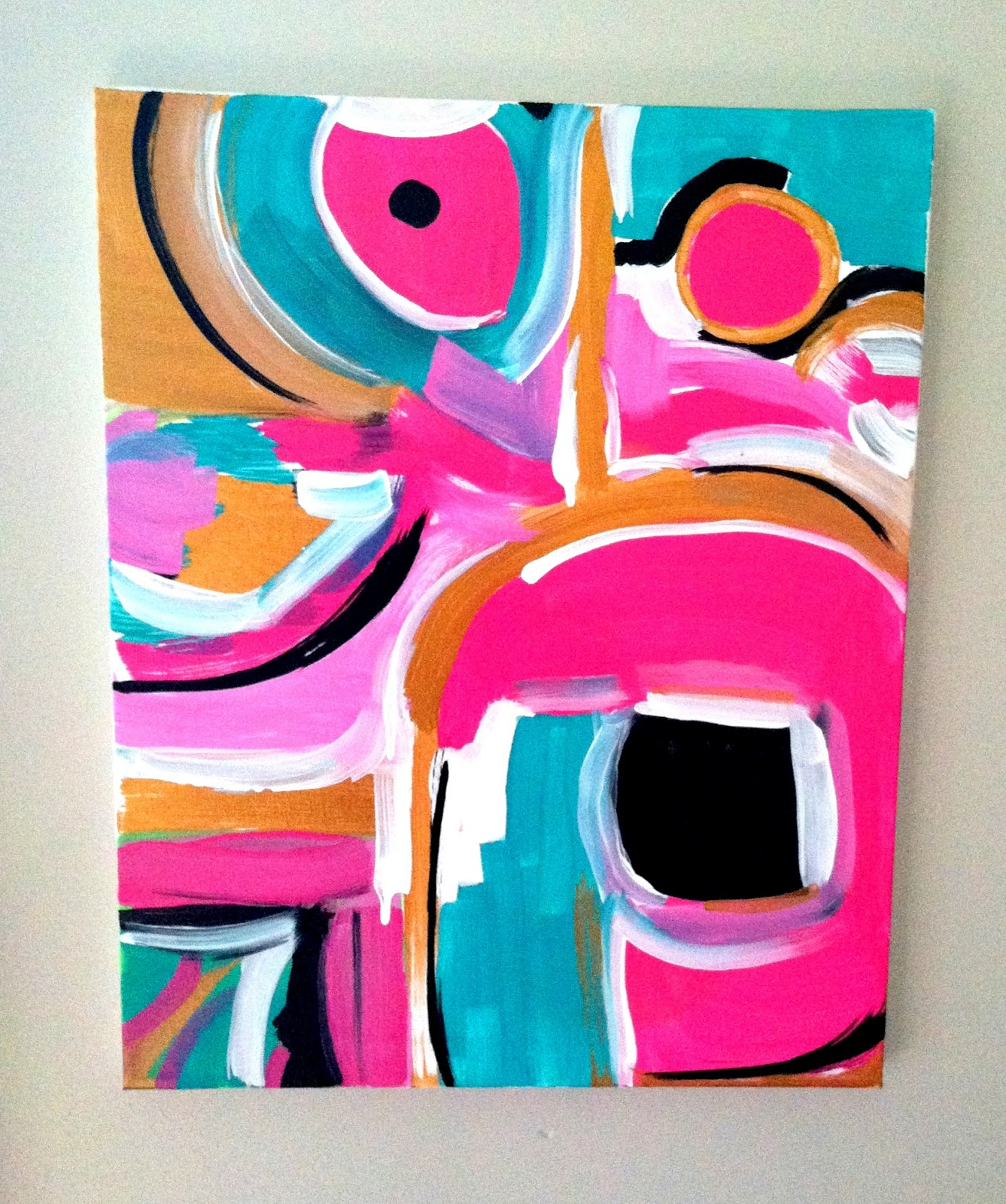 Lakeitha Duncan : DIY ABSTRACT ART