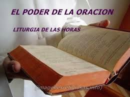 ORACIÓN DE LA LITURGIA DE LAS HORAS