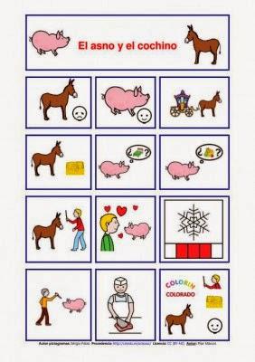 http://www.orientacionandujar.es/cuentos-con-pictogramas/
