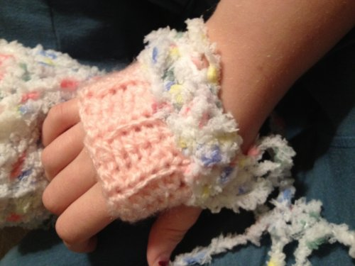 Crochet Mitt