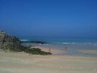 Punta Penencia una soleada mañana de sábado