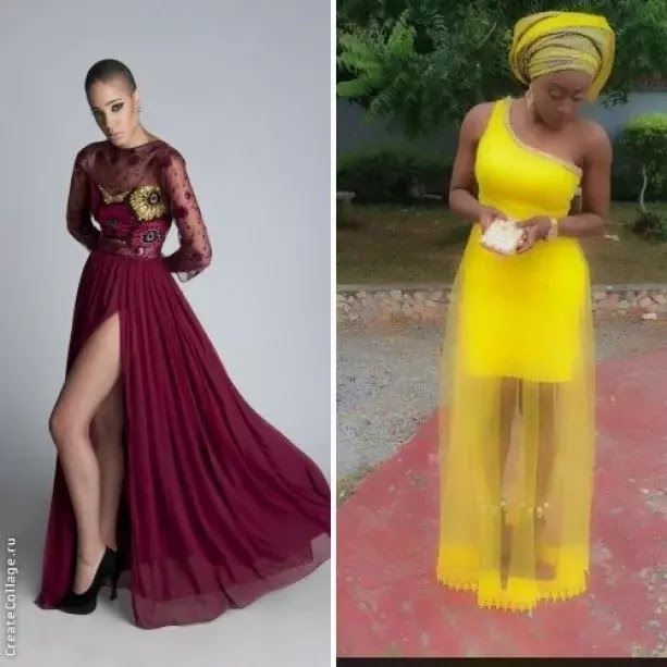 Nigerian chiffon styles for women ~ TushVibes