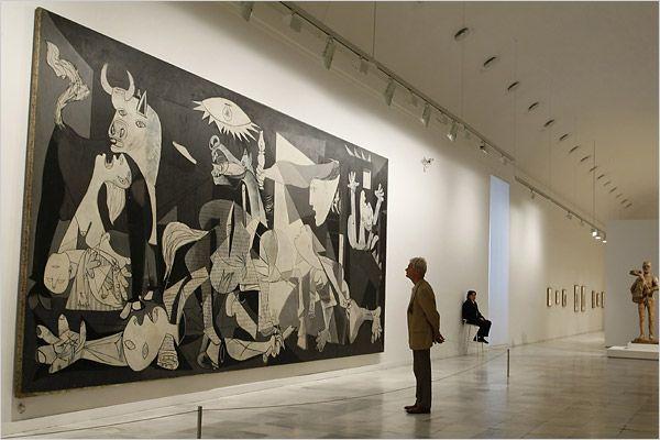Museu Nacional Centro de Arte Reina Sofia em Madri
