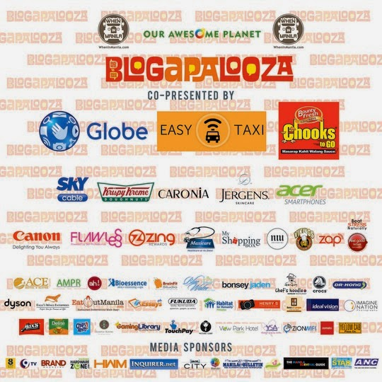 Blogapalooza 2014 sponsors and partners