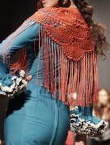 Mis mantones en Pasarela Flamenca 2012