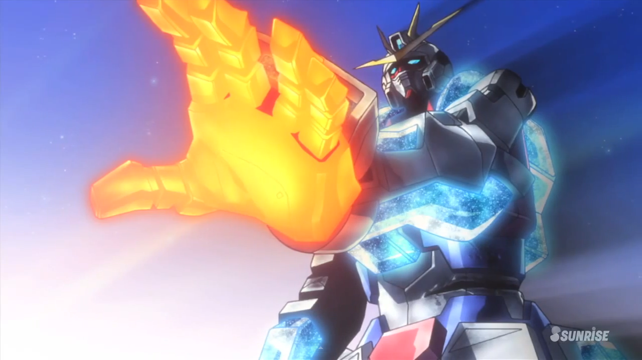 Recaap gundam build fighters try episode 20 unbreakable for Domon episode 39