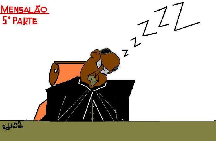 ''Dormindo no ponto''.
