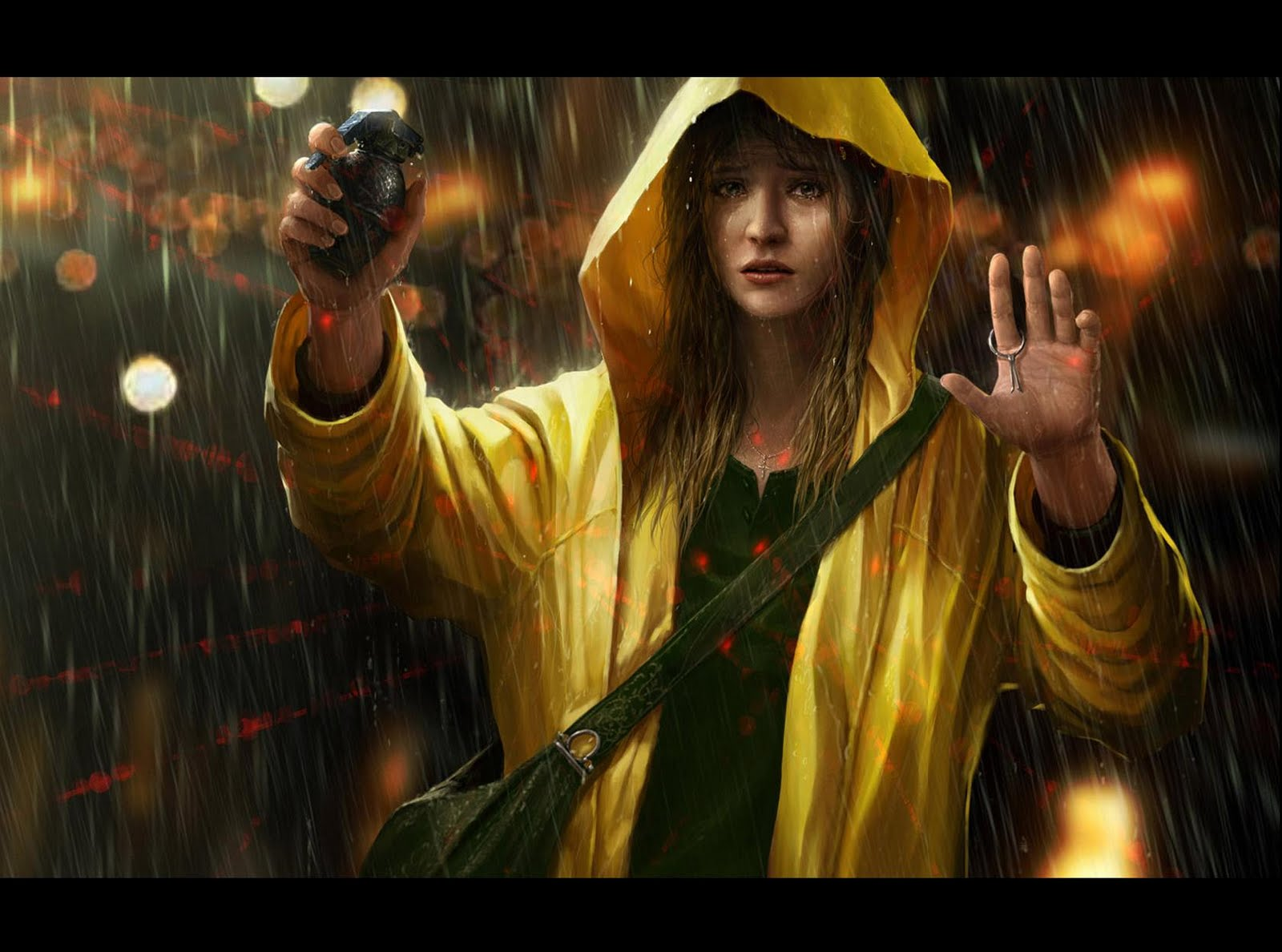 Heavy rain origami killer hd wallpapers wallpapers jeuxipadfo Image collections