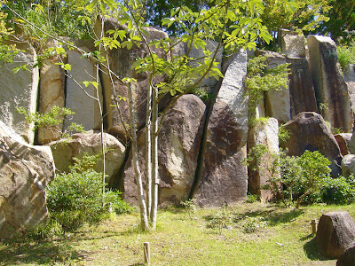 京都府・けいはんな記念公園 水景園 巨石群