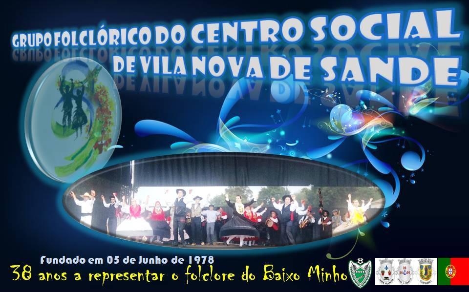 Grupo Folclórico do Centro<br> Social de Vila Nova <br>de Sande