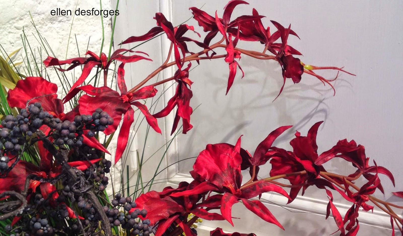 ellen desforges orchid es la tige ou en pot les compositions de fleurs artificielles sia. Black Bedroom Furniture Sets. Home Design Ideas