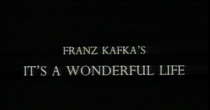 Christmas Tv History Franz Kafka 39 S It 39 S A Wonderful Life 1995 And Peter Capaldi
