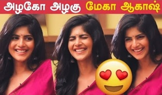 Megha Akash Ultra Cute Expressions | Treat for your Eyes