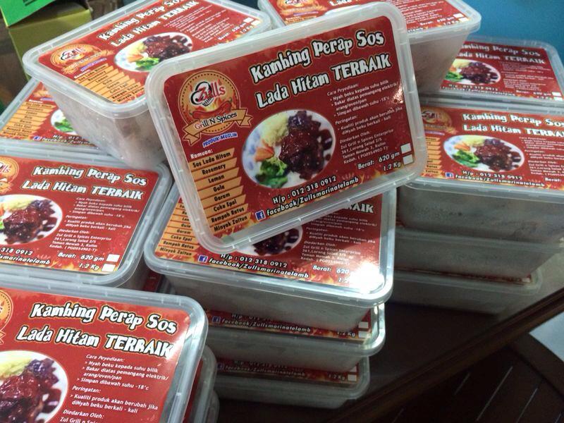 Produk Zny: Kambing Grills