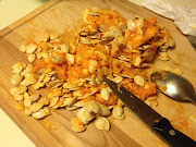 Pumpkin Puree & Salty Pumpkin Seeds