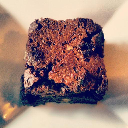 Double Chocolate and Walnut Brownies
