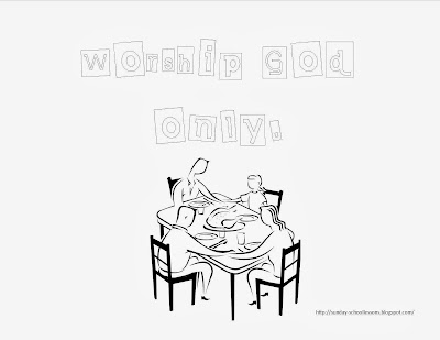 10 Commandments Coloring Page Number Two Sunday School Lessons Of Plenty