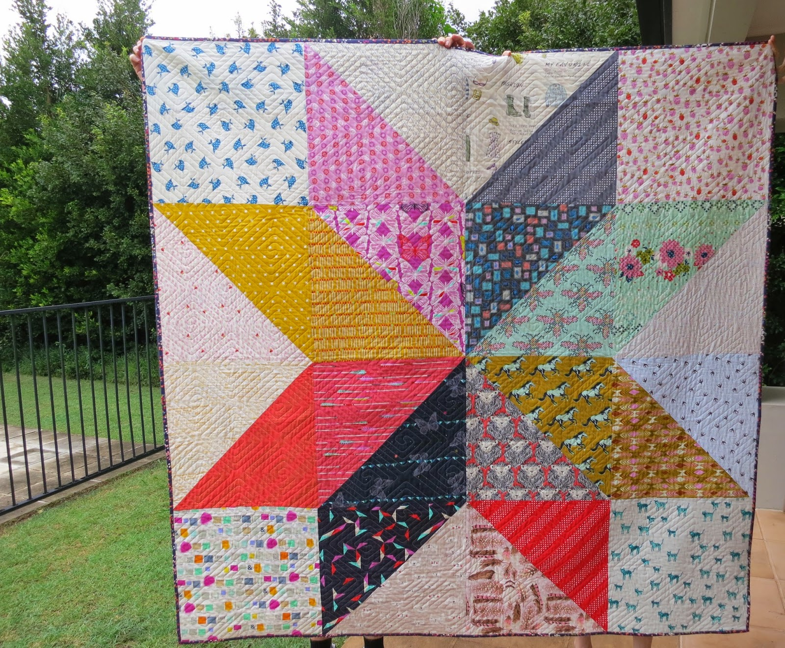catandvee: .: Cotton + Steel Giant Vintage Star quilt - wahoo! :. : cotton for quilting - Adamdwight.com