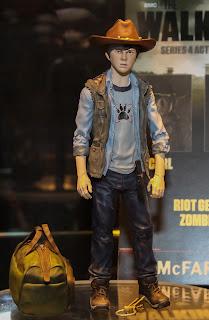 McFarlane Toys The Walking Dead 2013 Toy Fair Display - Series 4 Carl figure