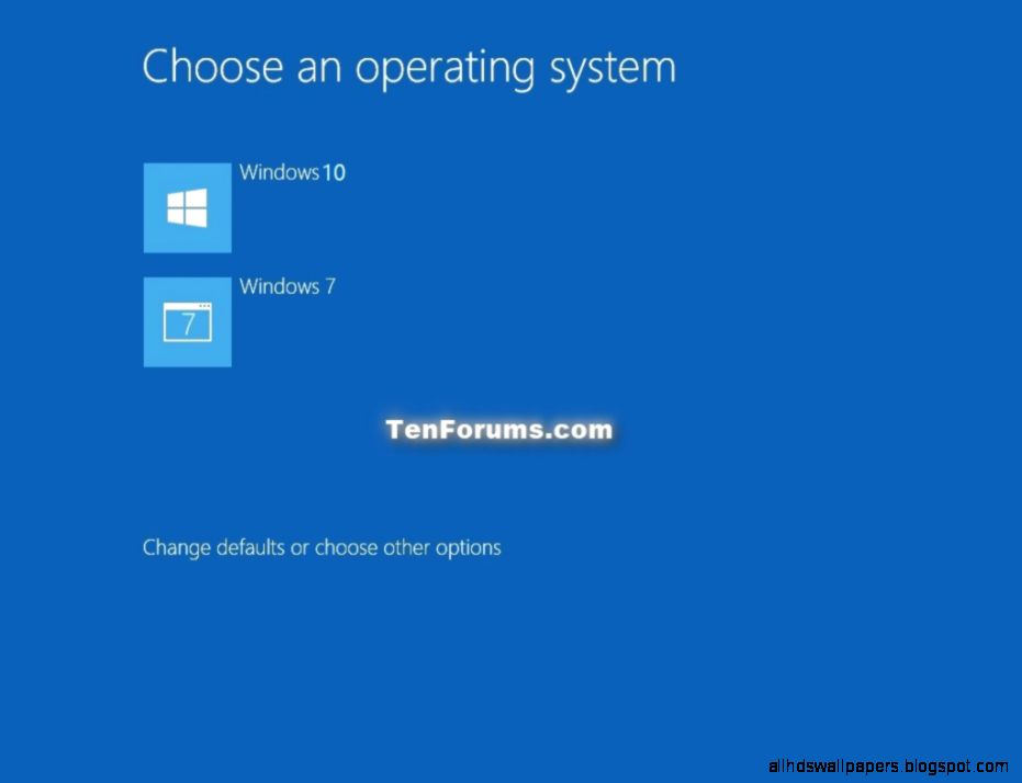 Windows 10   Dual Boot with Windows 7 or Windows 8   Windows 10 Forums