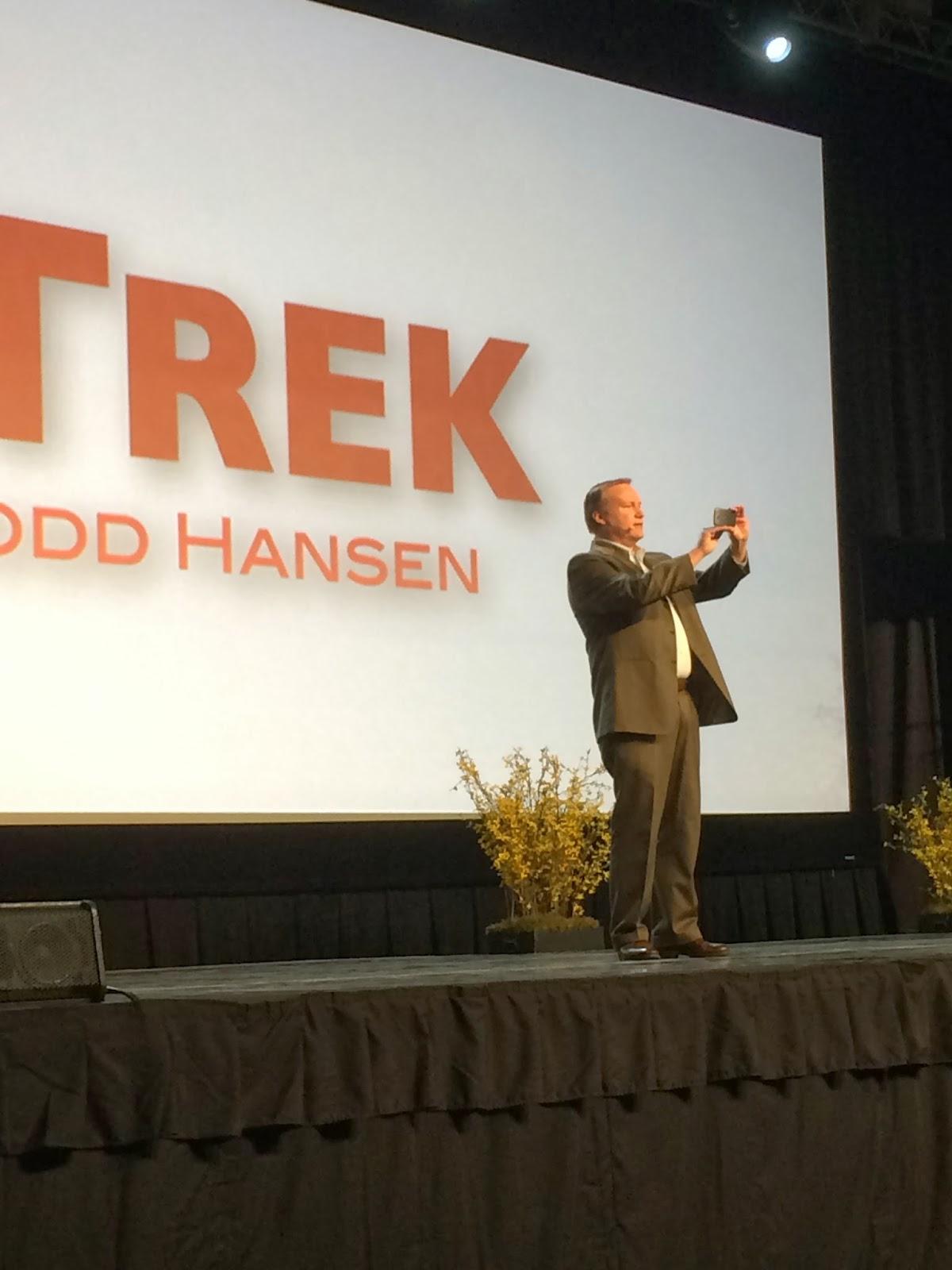 Todd Hansen of The Story Trek - Saturday Keynote 1